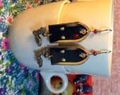 Nosferatu Earrings Vampire Halloween jewelry fangs