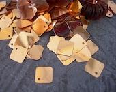 Sequins Vintage Strand Venetian ANTIQUE VENETIAN GOLD Diamond Spangles full strand fringe lot 7mm