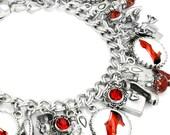 Shoe Jewelry, Red Shoes, Shoe Bracelet, High Heel Shoes, Dance Shoes, Shoes Charm Bracelet