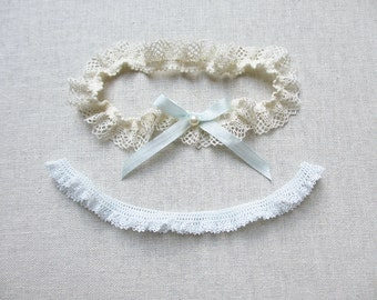 Jolie lace garter set with swarovski pearl and silk bow something blue perfect bridal shower gift bridal garter set throw blue lace garter