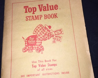 60's Top Value Stamp Book