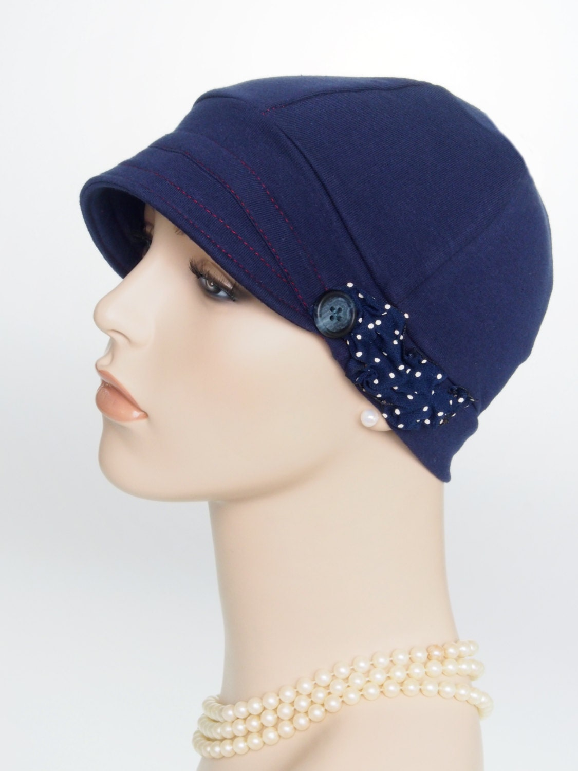 womens chemo cap for cancer hair loss lightweight cotton hat
