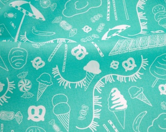 Busy Beach from the Boardwalk Delight Collection - designed by Dana Willard for Art Gallery Fabrics - fabric by the yard
