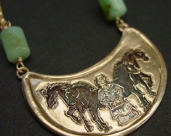 Rhiannon | Epona | Goddess of Horses - Necklace