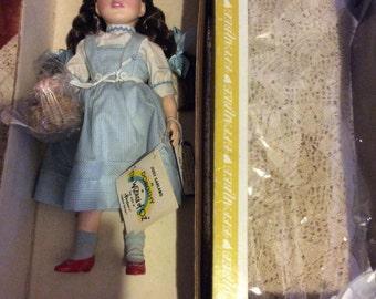 1984 14 inch Judy Garland as Dorothy Wizard of Oz doll by Effanbee