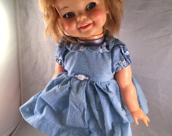 Vintage 1977 Ideal Giggles Doll