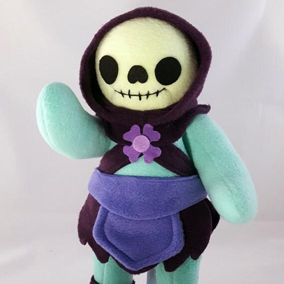 Cuddly Plush Skeleton