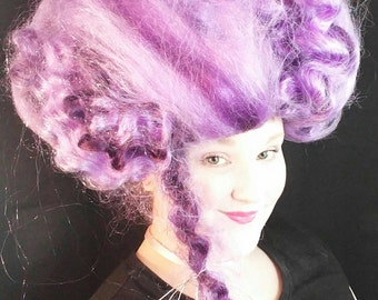Purple Lavender Marie Antoinette Wig  free shipping
