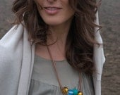 Contemporary Jewelry // Murano Glass Jewelry // Contemporary Necklace // Hand Blown Glass