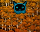 Eyes of the Wild Wonder Print
