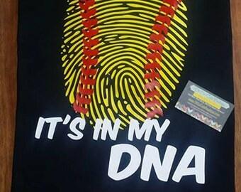 Softball Baseball Tee ball DNA T Shirt