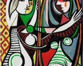 Picasso Oil Painting Reproduction on mono deluxe Needlepoint Canvas
