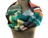 RESERVED LISTING FOR Caryl G. | Diana - Handwoven Heirloom Striped Scarf |  Modern Luxurious Woven Scarf | Women's Chic Accessories | H62