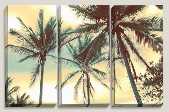 Items Similar To Custom Designed, Wall Panels, Palm Trees