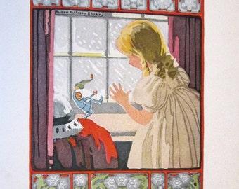 Princess Finds A Playmate - Volland books 1918 - Caroline Hofman - RARE