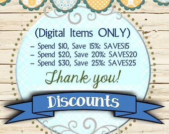 Bulk Discounts on Multiple Digital Items