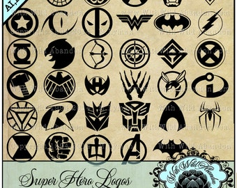 Superhero svg, Superhero Silhouettes, Marvel svg, DC svg, green hornet, the avengers,  Spiderman, ai, svg,eps,png, dxf, wonder woman, batman