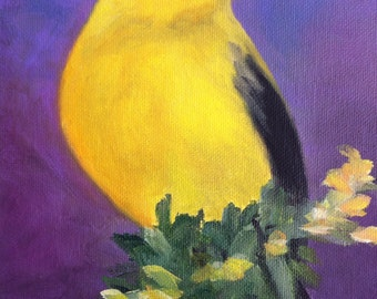 Majestic Goldfinch