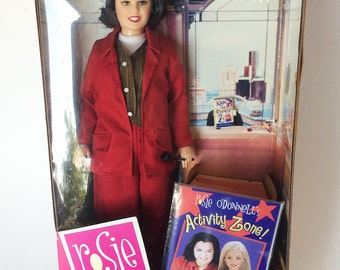 Vintage Rosie O'Donnell Doll, Collectible Celebrity Barbie