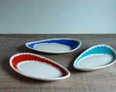 Scalloped Oval Dish