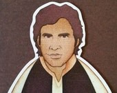 Harrison Ford as Han Solo- Star Wars Magnet