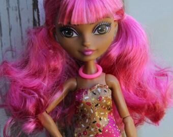 5 Rubber Bangle Bracelets fits Petite Slimline High Fashion Dolls Pick from 50 colors