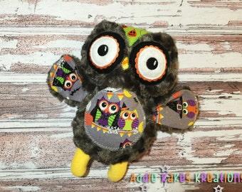 Custom Halloween Owl Plush / Stuffed Animal