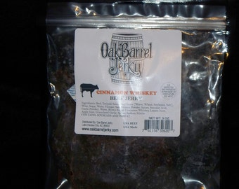 Cinnamon Whiskey Beef Jerky