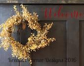Welcome - Door Decal - Front Door - Vinyl Decal - Home Decor - Curb Appeal - Welcome Sign - Sticker - Door Updates - DIY Project