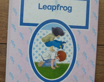 vintage 80s Expressways 2 LEAPFROG schoolbook children boy girl