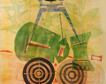 Digital Fine Art Print : WoundedAnimal