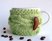 Tea Cozy, Coffee Cozy, Knit Coffee Cozy, Coffee Mug Cozy, Gifts Under 20, Coffee Cup Sleeve, Knit Cozy