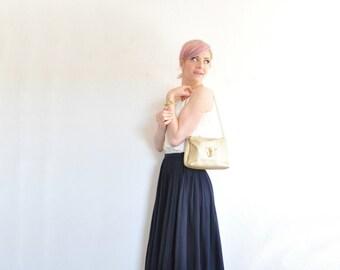 gold elephant purse . pale metallic safari animal shoulder bag .sale s a l e