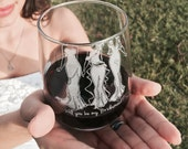 Wine Glass, Will you be my Bridesmaid? Be my Bridesmaid, bridesmaid gift, wedding party gifts, stemless wine glasses, Bridesmaid Dress