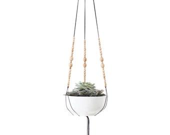 MIRARI | Hanging Planter | Modern Macrame