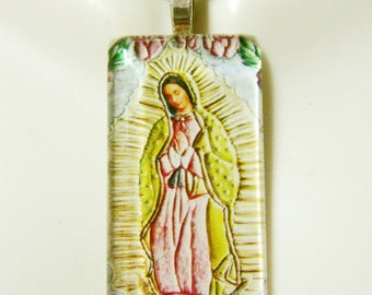 Lady of Guadalupe pendant with chain - GP01-212