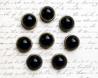Push Pins - Decorative Push Pins - Office Supplies - Gold - Office Accessories - Office Organization - Message and Bulletin Boards - Black