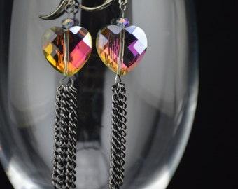 Mystic Heart Earrings