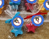Wonder Woman Superhero Favor Tag Thank You Sticker Party Printable - Stick to Your Story