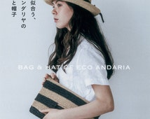 Bag and Hat of Eco Andaria (Japanese craft book, Japanese crochet book)
