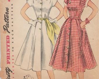 50s Shirtwaist Dress Etsy