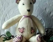 Primitive Lavender Sweet Bear