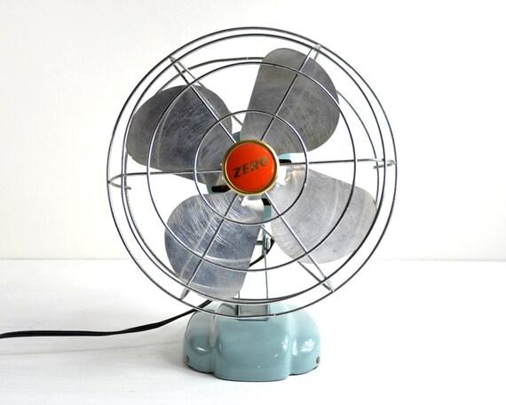 Retro Electric Fans : Vintage electric fan small retro desk industrial decor