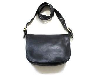 Vintage Coach Bag / Coach Patricia Legacy Bag / Black Coach Purse