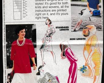 Woman's Day 3/8/88  Magazine Mail Order McCall's Tunic Pattern
