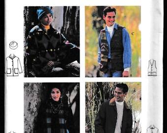 Simplicity 9139 Misses', Men's, Teen Boy's and Teen Girl's Jacket, Vest and Hat