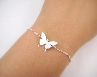 Butterfly Bracelet Bayby Animal Bracelet Nature Jewelry Simple Everyday jewerly Minimalist Jewelry