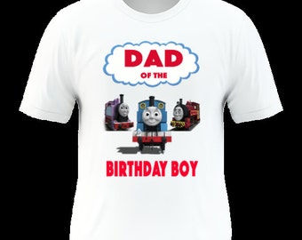 Train Themed Birthday Shirt