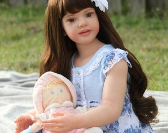 "CUSTOM* Reborn Toddler/Child Doll, ""Nicole"" by Natali Blick, Choose Hair & Eye Color/Gender!"