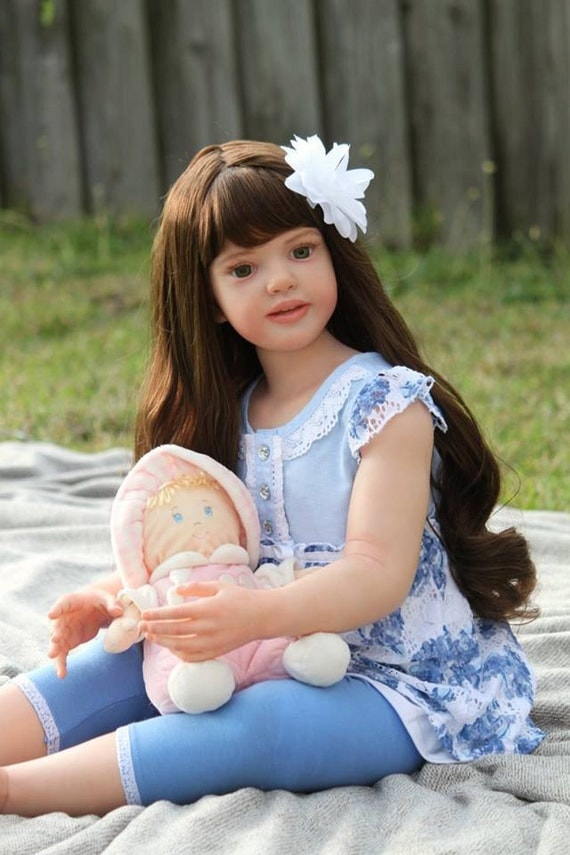 Custom Reborn Toddler Child Doll Nicole By